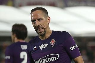 """Fiorentina, Iachini sul recupero di Ribery: """"Resterà fuori per 30-40 giorni"""""""