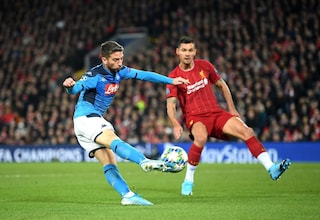Dries Mertens asso di Champions: il 50% dei gol del Napoli è merito suo