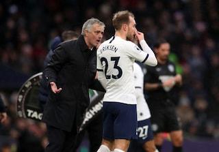 """Mourinho su Eriksen: """"Sapevo del suo addio, ma ho provato a fargli cambiare idea"""""""
