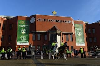 Scozia, tifoso del Celtic arrestato per aver preso a pugni i cavalli della Polizia
