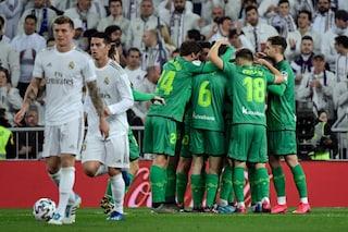 Real Madrid-Real Sociedad 3-4, Odegaard e Isak eliminano Zidane dalla Copa del Rey