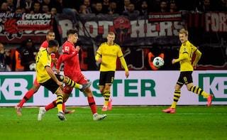 Emre Can, super gol all'esordio da titolare con il Borussia Dortmund contro il Leverkusen