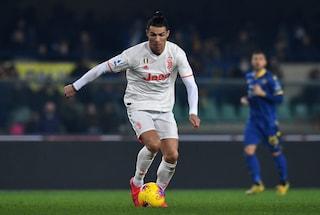 Ronaldo in gol per la decima partita di fila con la Juventus, Quagliarella e Batistuta vicini