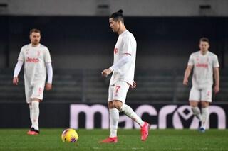 Le pagelle di Verona - Juventus 2-1: CR7 da '10' ma non basta, Amrabat e Kumbulla al top