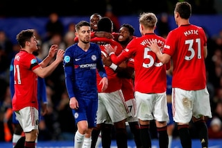 Chelsea-Manchester United 0-2: Martial, Maguire (e il Var) stendono Lampard
