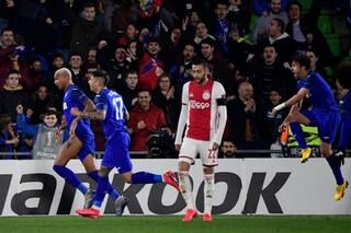 Sedicesimi Europa League, risultati: Ajax e Manchester United, che delusione