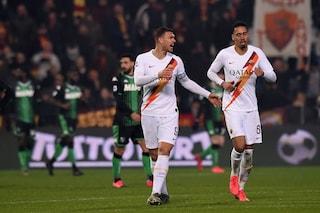 Edin Dzeko, 100° gol con la Roma: è il settimo nella storia dei marcatori del club