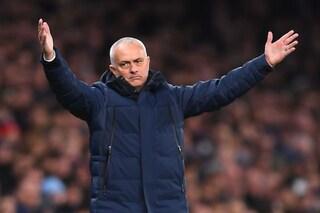 """Mourinho dopo il ko in Champions: """"Il Tottenham è come un'arma senza proiettili"""""""