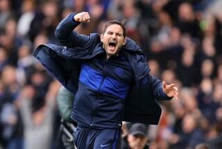 Chelsea-Tottenham 2-1, l'allievo Lampard batte il maestro Mou: allungo Champions per i Blues