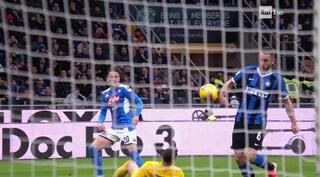 Moviola Inter-Napoli: Perchè non è stato dato il rigore per fallo di mano di De Vrij