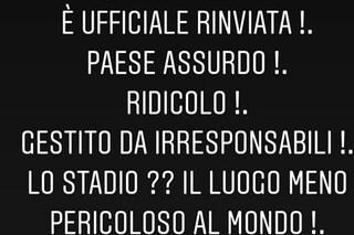 """Coronavirus in Italia, proprietario dell'Ascoli sulla gara rinviata: """"Assurdo e ridicolo"""""""