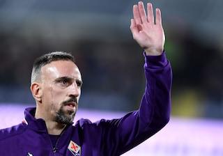 Fiorentina, Ribery pronto al rientro: il francese potrebbe tornare con il Milan