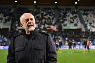 """De Laurentiis: """"Al Napoli mancano tantissimi rigori. Potrei chiedere i danni agli arbitri"""""""