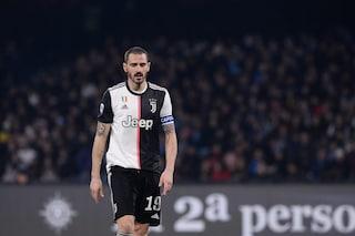 """Bonucci: """"Il compito della Juventus è arrivare in fondo alla Champions League"""""""