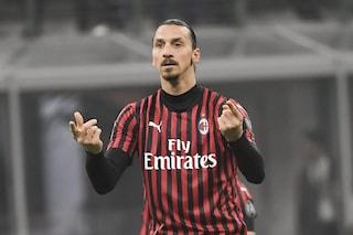 Milan, come sta Ibrahimovic: le sue condizioni in vista del derby