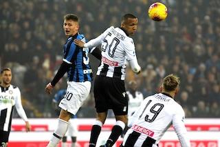 Udinese-Inter 0-2, doppio Lukaku: rilancia l'Inter al secondo posto
