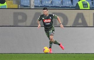 """Napoli, Politano e i complimenti a Gattuso: """"È bravo, lo preferisco a Conte"""""""
