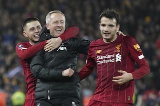 FA Cup, il Liverpool agli ottavi con la formazione più giovane della storia