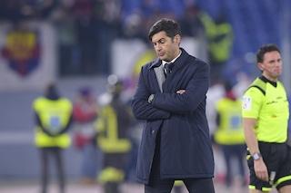 """Roma, Fonseca difende la squadra: """"Il responsabile? Solamente io"""""""