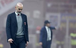 """Milan, Pioli pensa positivo: """"Dominato per 45' una squadra con 19 punti in più di noi"""""""