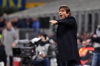 """Inter, Conte: """"Con la Lazio è sfida tra outsider. Var a chiamata? Non sono d'accordo"""""""