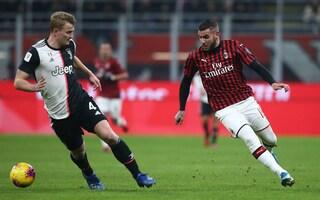 Milan-Juventus Coppa Italia 1-1, risultato finale: a Rebic risponde Cr7