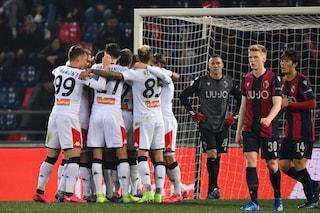 LIVE Bologna-Genoa, Serie A, 0-3 risultato finale: Grifone corsaro al Dall'Ara