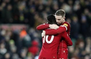 Record Liverpool: già qualificato per la prossima Champions, con 12 turni d'anticipo