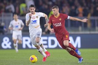 Roma-Lecce Serie A 4-0, i giallorossi di Fonseca tornano a sorridere