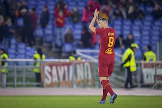 Edin Dzeko eguaglia Montella nella classifica dei migliori marcatori della Roma