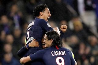 E' del Psg il miglior attacco d'Europa: primato in Ligue1 con 71 reti all'attivo
