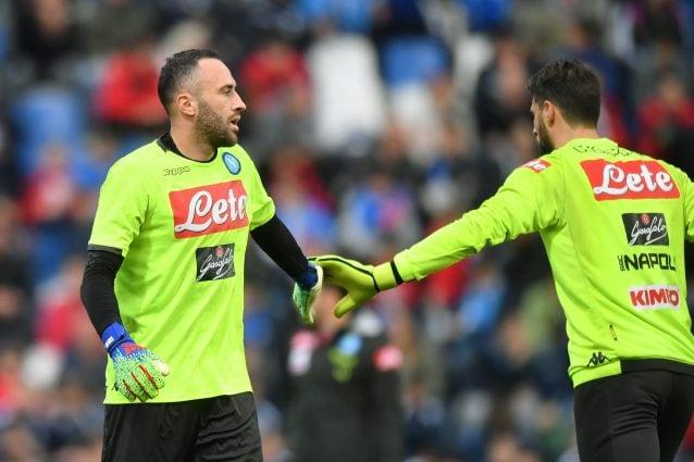 Inter-Napoli, Ospina: Tutto ancora aperto. Sana competizione con Meret
