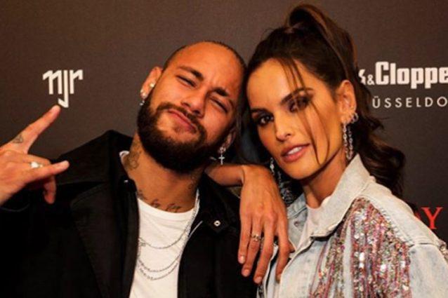 Il giocatore e la modella Izabel Goulart – Twitter Neymar