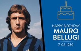 L'Inter fa gli auguri a Mauro Bellugi: l'ex difensore nerazzurro ha compiuto 70 anni