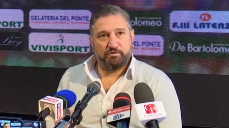 Il direttore sportivo Vincenzo De Santis