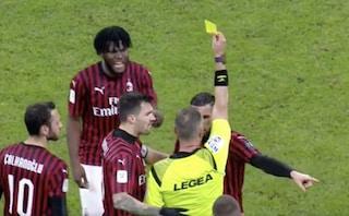 Moviola Milan-Juventus: Ibrahimovic e Theo Hernandez, ammonizioni pesanti (ma giuste)