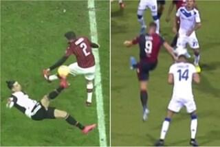 Fallo di mano di Calabria in Milan-Juventus, per l'AIA è giusto assegnare il rigore