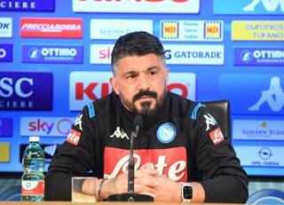 """Gattuso: """"Allan fuori in Cagliari-Napoli, non si è allenato come dico io"""""""