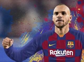 Barcellona, ufficiale l'acquisto di Martin Braithwaite