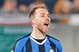 """Inter, il messaggio di Lukaku a Eriksen: """"Congratulazioni per il tuo primo gol interista"""""""