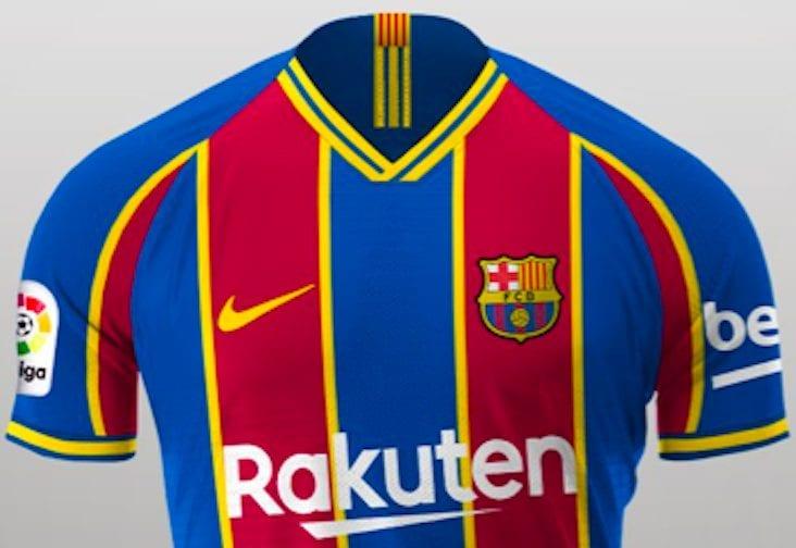 Barcellona, in arrivo la maglia 2020/21: tra il rosso e il blu ...