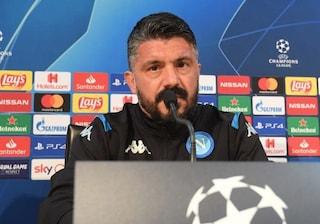 """Napoli-Barcellona, Gattuso ringrazia Ancelotti: """"Affronto grande squadra grazie a lui"""""""