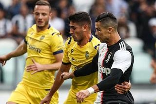 Calcio in tv oggi e stasera: Verona-Juventus è il match clou, apre Fiorentina-Atalanta