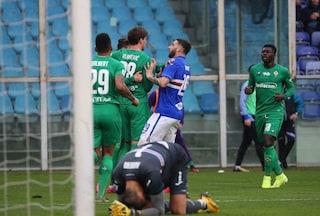 Vlahovic croce e delizia: doppietta per la Fiorentina, esulta provocando i tifosi della Samp