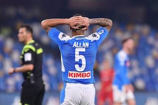 Napoli: Gattuso ha già messo alla porta Allan, chi lo prenderà in estate?