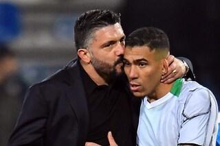 Napoli, pace fatta tra Allan e Gattuso. Il brasiliano ha chiesto scusa