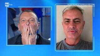 Perchè il figlio di Amadeus si chiama Josè: in onore di Mourinho, ex allenatore dell'Inter