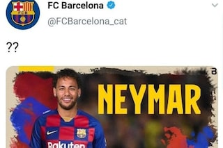 Hacker viola l'account del Barcellona e rivela: Neymar torna in blaugrana