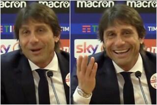Antonio Conte ritrova il sorriso dopo il ko con la Lazio grazie a Vitali Kutuzov