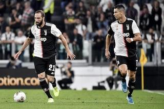 Juventus, come è cambiato Higuain: da bomber ad assistman personale di Cristiano Ronaldo